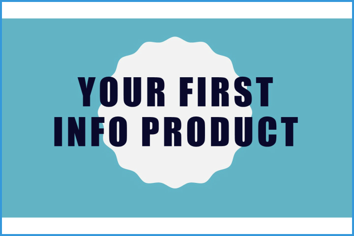 Your First Info Product thumb